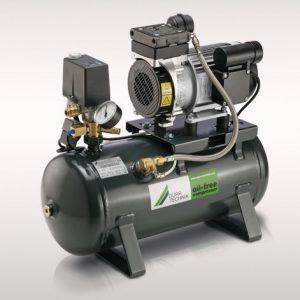 compressore aria senza olio